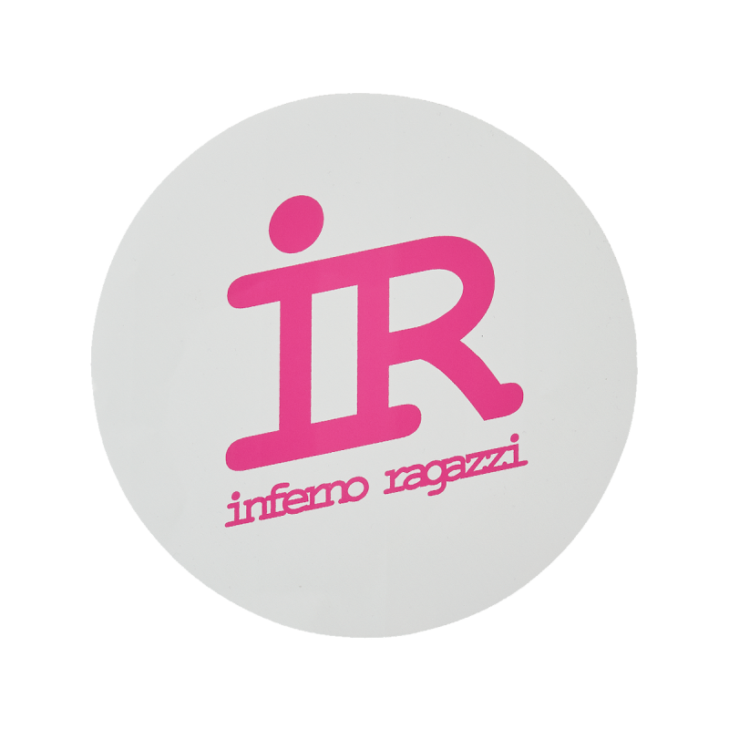 IR XXL logo sticker